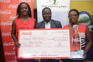 Coca-Cola Kenya Marketing Manager Lucy Oduor