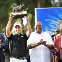 Lorenzo Gagli Lift Barclays Kenya Open Trophy T
