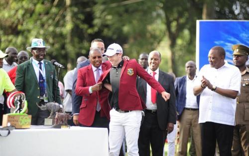 Barclays Bank Charles Muchene dress Lorenzo Gagli T